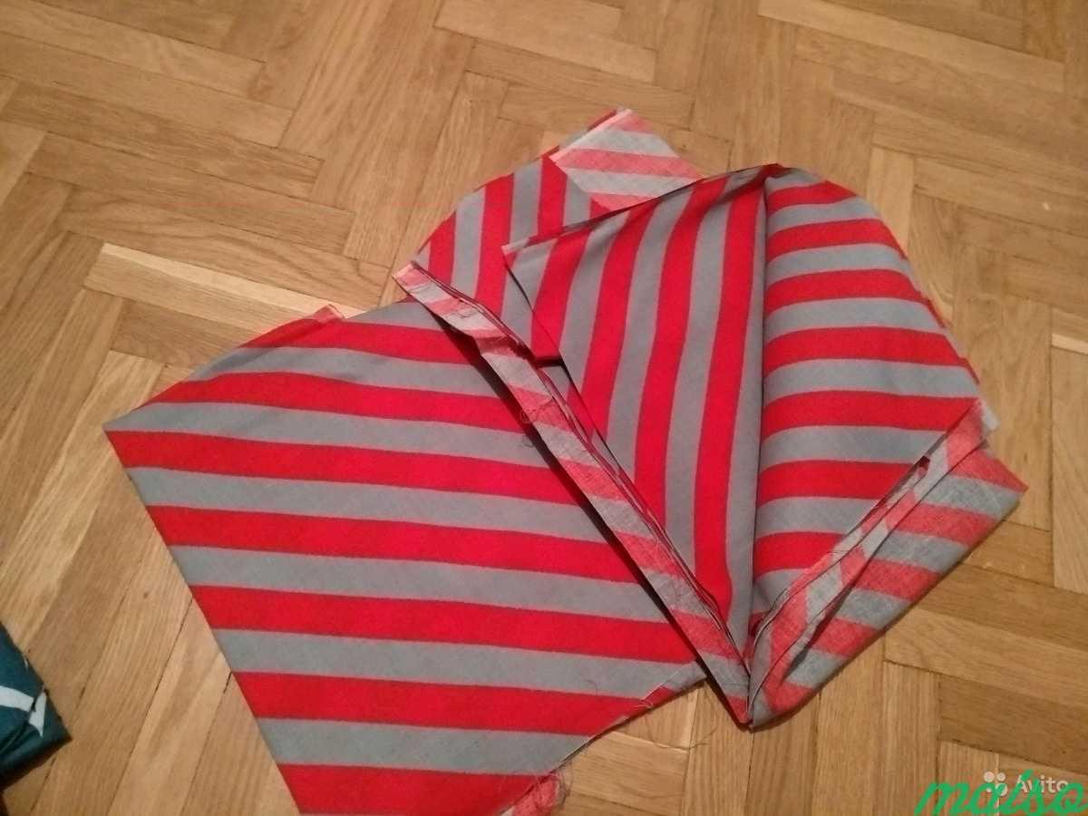 Натуральные ткани СССР для шитья, отрез ткани в Москве. Фото 4