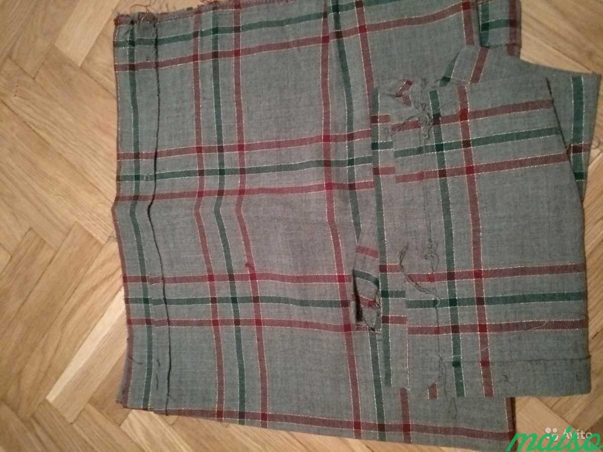 Натуральные ткани СССР для шитья, отрез ткани в Москве. Фото 3