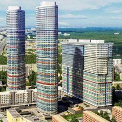 Продам квартиру 3-к квартира 110 м² на 11 этаже 38-этажного кирпичного дома