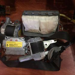 Подушка безопасности пассажира Lancer 10