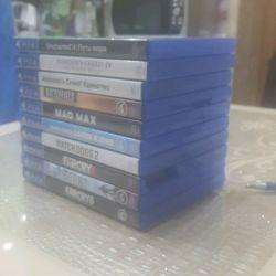Продаю 10 игр для PS4. Читайте описание