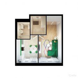 Продам квартиру в новостройке Мкр. «Жемчужина Зеленограда» 1-к квартира 36.5 м² на 10 этаже 12-этажного монолитного дома , тип участия: ДДУ