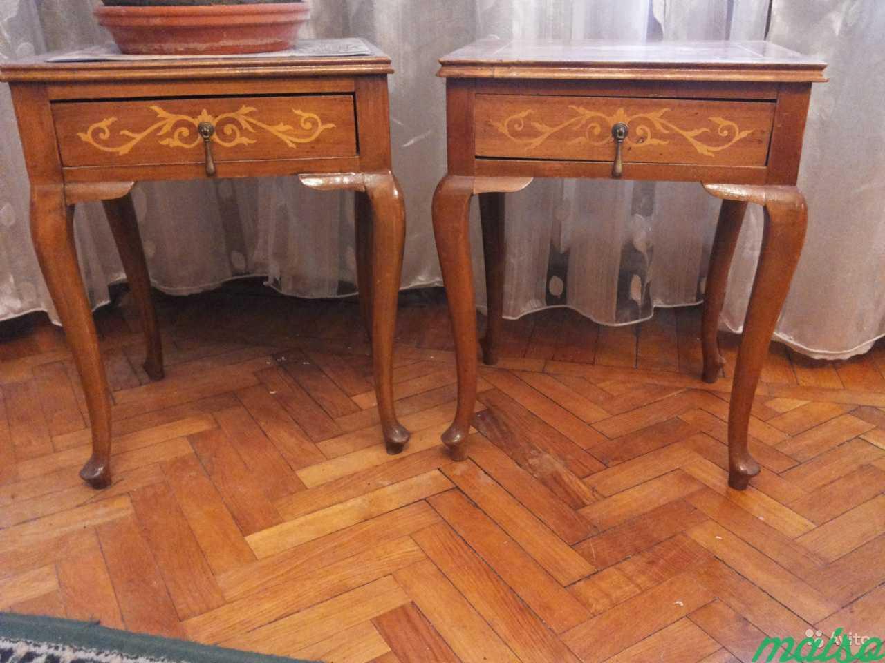 Две старинные тумбочки Венгрия в Москве. Фото 1