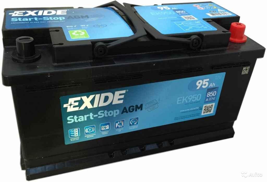 Аккумулятор Exide AGM в Москве. Фото 1