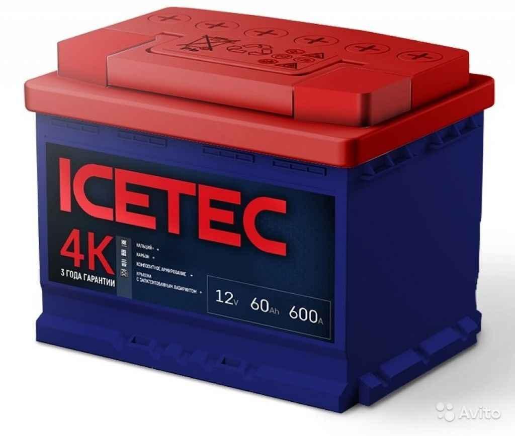 Аккумуляторы Icetec. Высокое качество и надежность в Москве. Фото 1