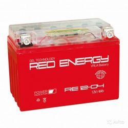 Red Energy DS 1204 12V 4 А/ч 55 А обр. пол