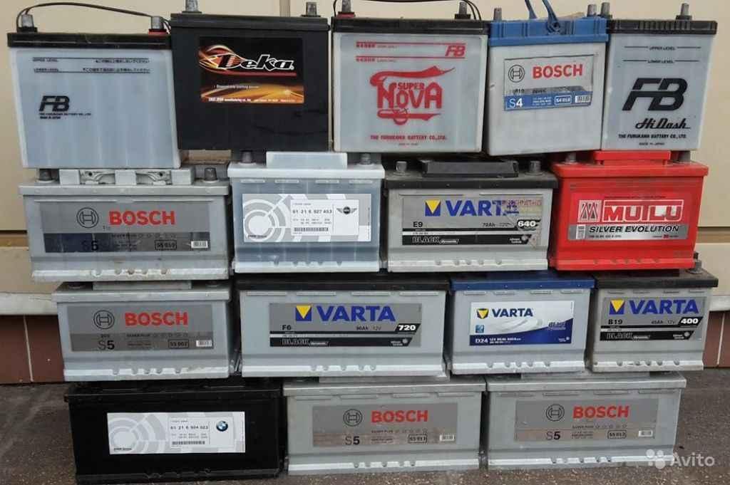 Аккумуляторы Б/У импортные, с гарантией 6 месяцев в Москве. Фото 1