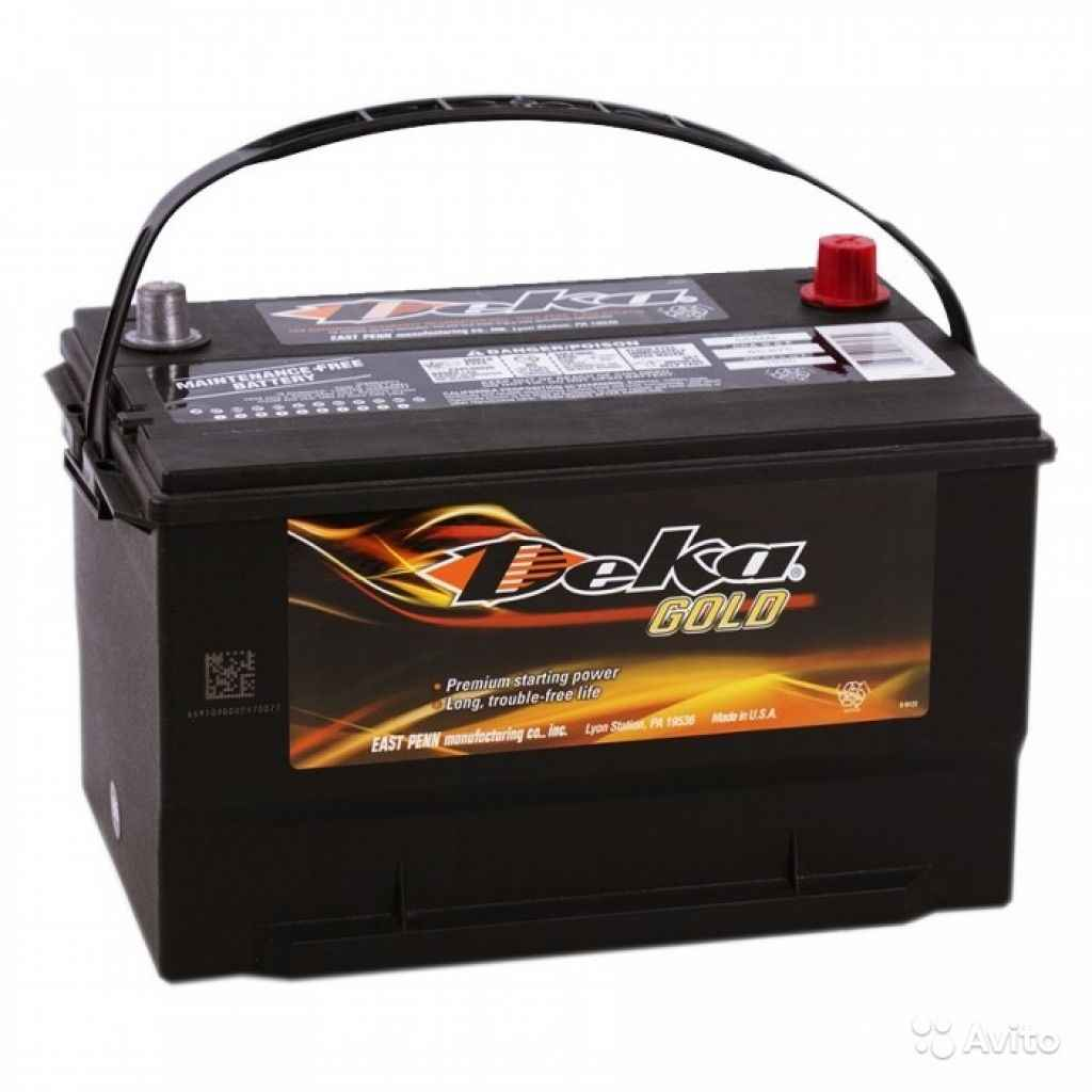 Аккумулятор Deka 100L (665MF) прям. пол. 100 Ач в Москве. Фото 1