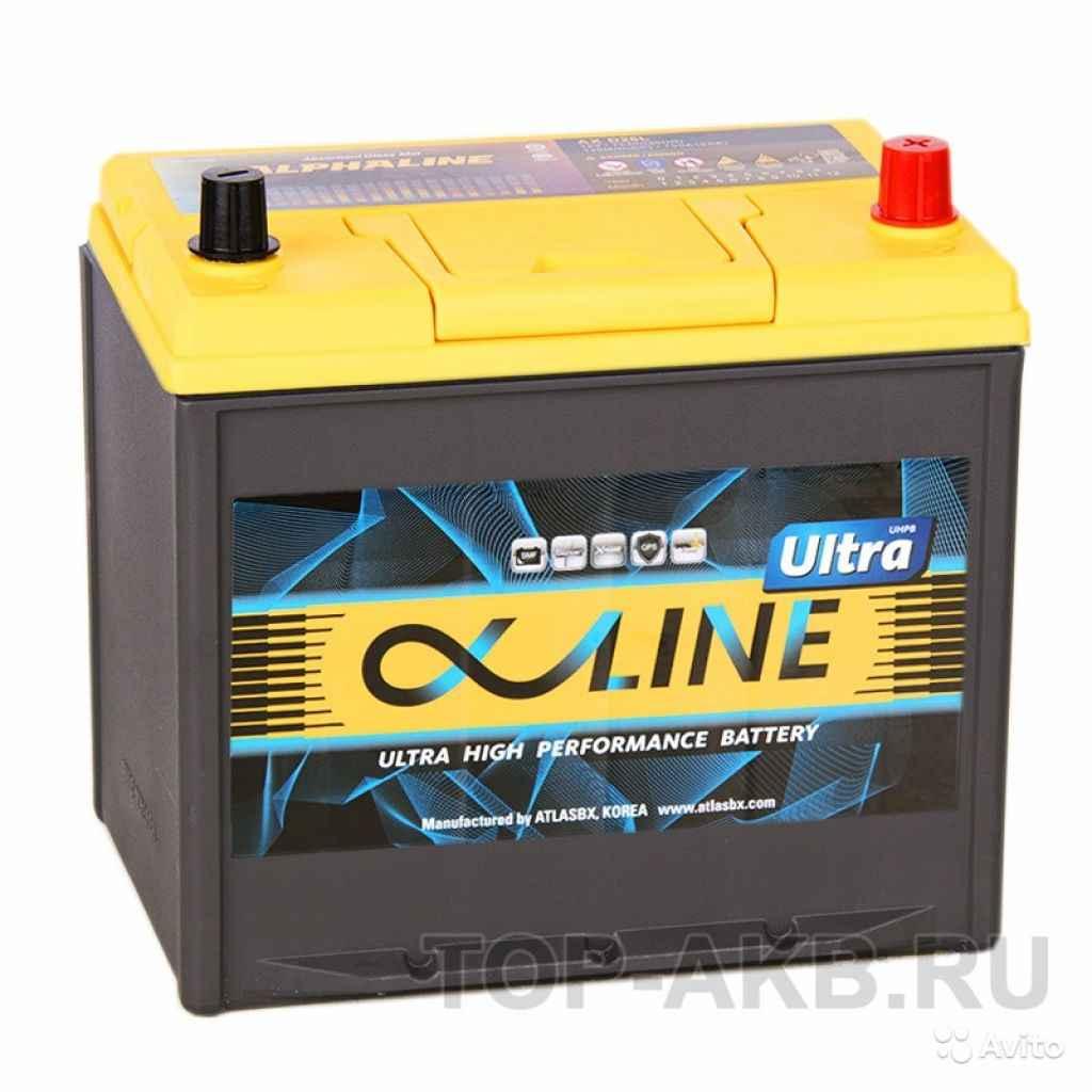 Аккумулятор Alphaline Ultra 95D23L 78R 750A 232x17 в Москве. Фото 1