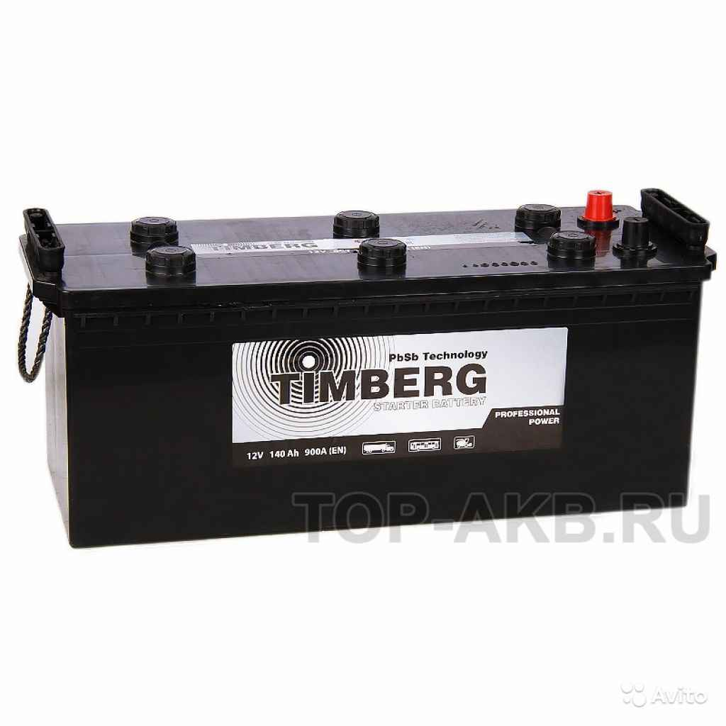 Аккумулятор Timberg Truck 140 рус 900A 513x189x223 в Москве. Фото 1