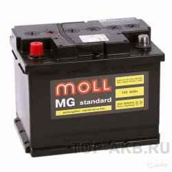 Аккумулятор Moll MG Standard 62L 600A 242x175x190