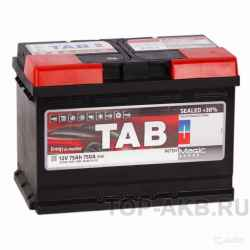 Аккумулятор Tab Magic 75R (750A 278x175x190) 18908