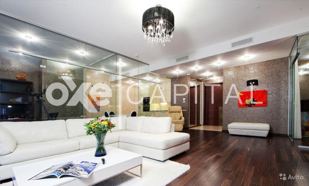 Сдам квартиру 3-к квартира 110 м² на 48 этаже 73-этажного монолитного дома в Москве. Фото 1