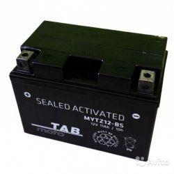 Аккумулятор TAB Moto mytz12-BS 12вольт 11А.ч