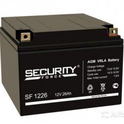 Аккумуляторы для ибп/UPS Security Force SF 1226 (1
