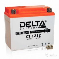 Мото аккумулятор Delta CT 1212 (YTX14-BS, YTX12-BS
