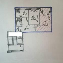 Комната 18.2 м² в 2-к, 9/9 эт.