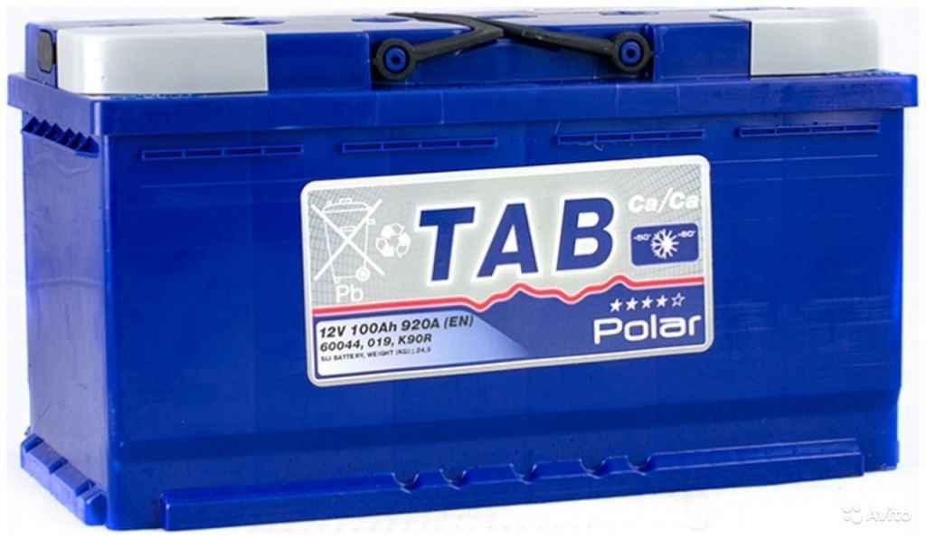 Аккумулятор TAB polar 100 R+ (L5) в Москве. Фото 1