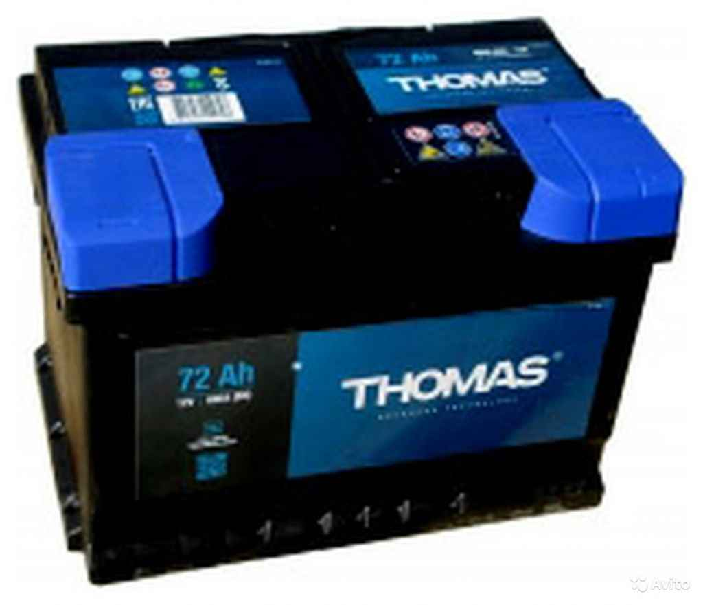 Аккумулятор thomas 72 R+(LB3) в Москве. Фото 1