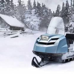 Снегоход Stels мороз 600S