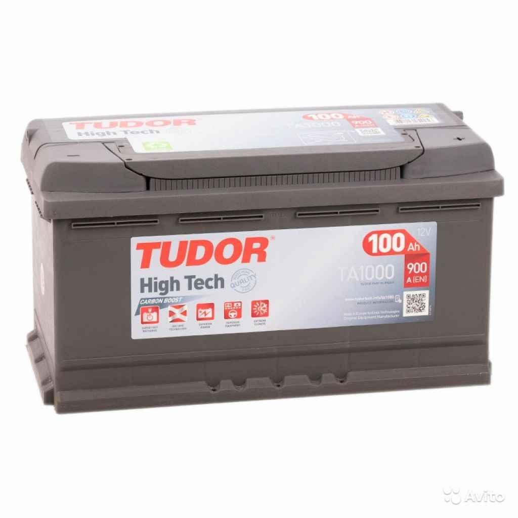 Аккумулятор Tudor HighTech TA1000 на гарантии в Москве. Фото 1