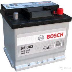 Аккумулятор Bosch S3 002 45 Ач