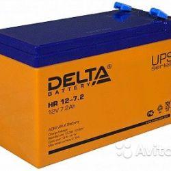 Аккумулятор Delta HR 12-7.2 7.2 а/ч
