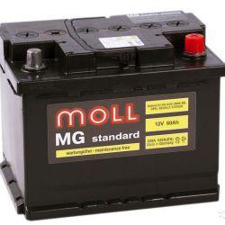 Аккумулятор Moll MG Standard 12V-60Ah L