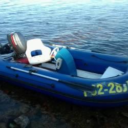 Лодка Риб с мотором Ямаха-30