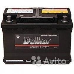 Аккумулятор Delkor 57539