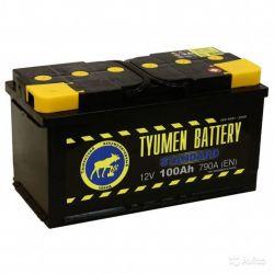 Аккумулятор Тюмень Standard 6ст-100 L+