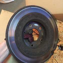 Тормозные диски задние для митсубиси asx