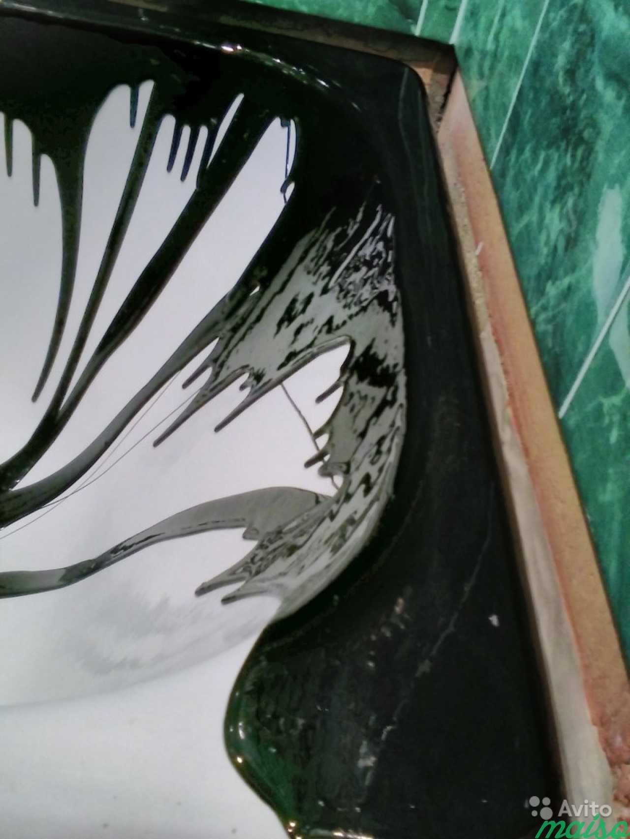 Акриловый вкладыш.Жидкий акрил.Эмаль. Сантехника в Санкт-Петербурге. Фото 2