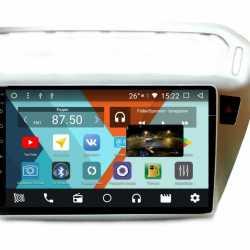 Штатная магнитола Android для Peugeot 301