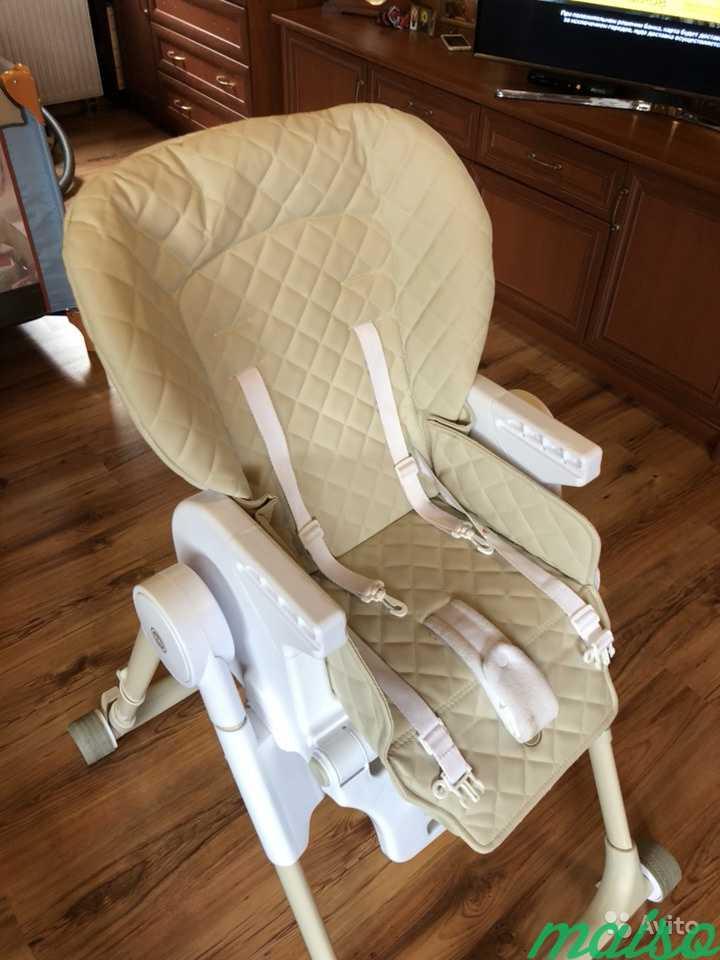 Детский стул Кресло для кормления Happy baby в Москве. Фото 5