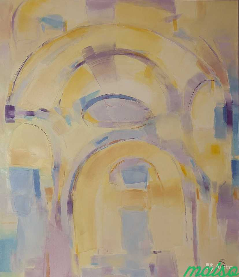 Диптих Золотые купола (картины маслом) в Москве. Фото 6