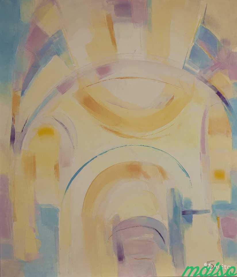 Диптих Золотые купола (картины маслом) в Москве. Фото 5