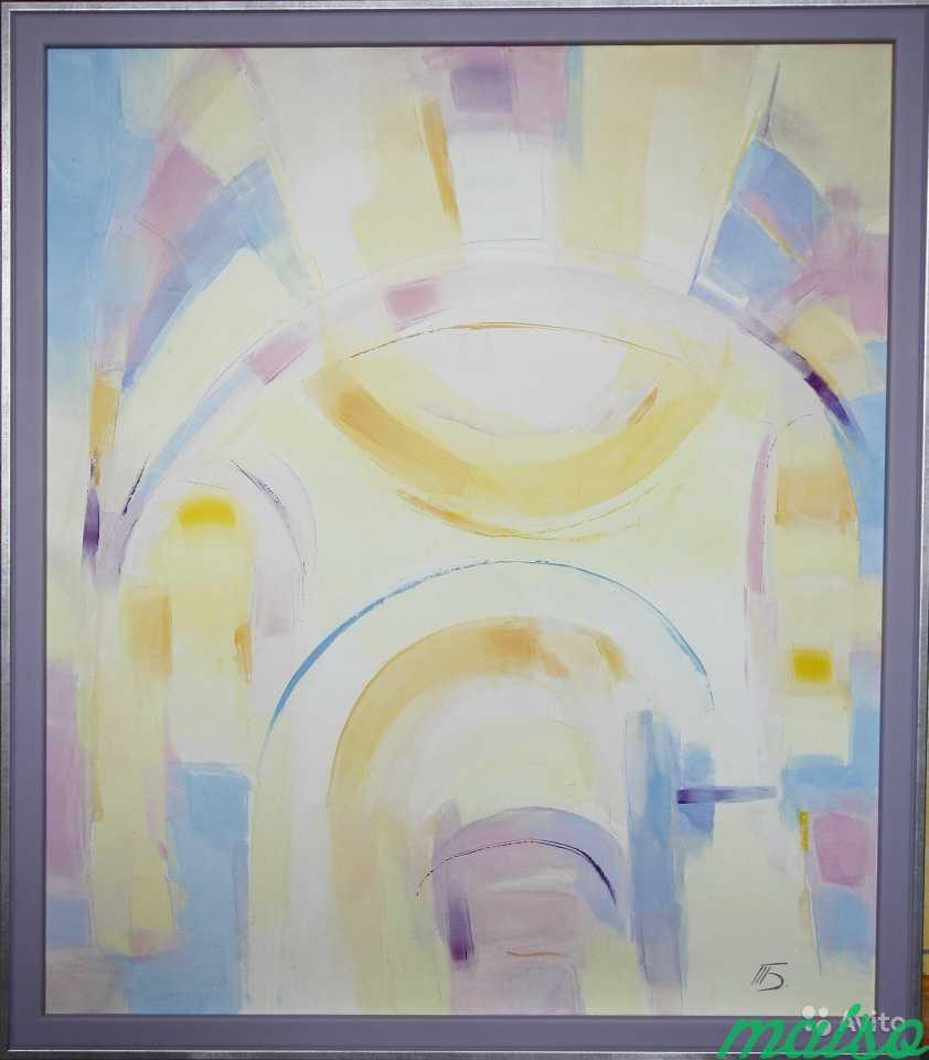 Диптих Золотые купола (картины маслом) в Москве. Фото 1