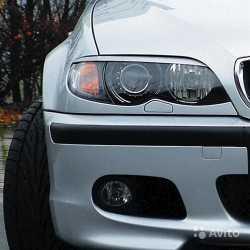 Реснички на BMW E46 (рестайл.)