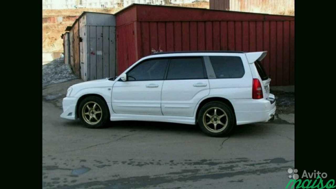 Спойлер Syms(Subaru forester sg) в Санкт-Петербурге. Фото 2