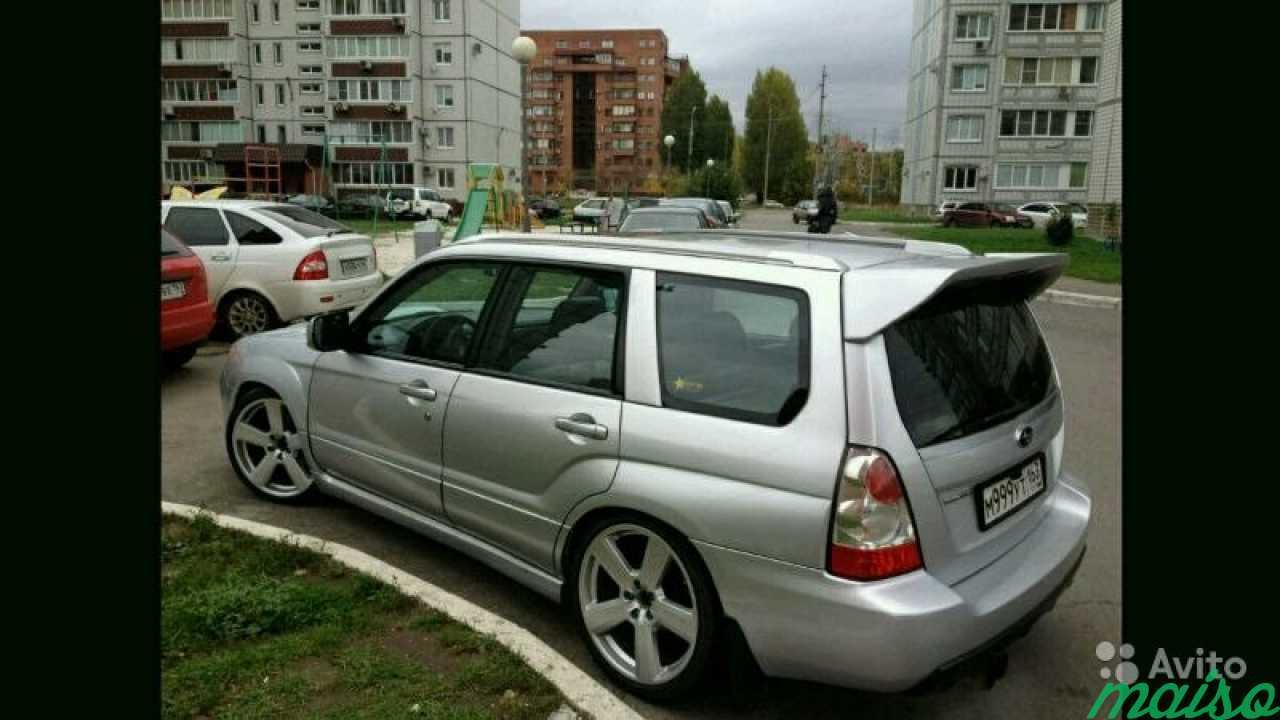 Спойлер Syms(Subaru forester sg) в Санкт-Петербурге. Фото 1