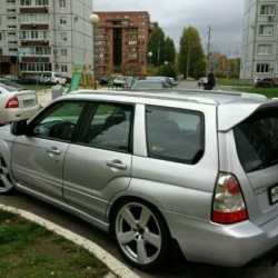 Спойлер Syms(Subaru forester sg)