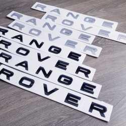 Буквы на капот и крышку багажника Range Rover