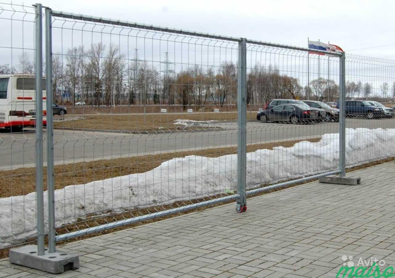 картинка ограждения строительной площадки