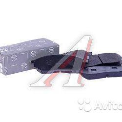 Колодки тормозные nissan Pathfinder Navara 2.5CDI