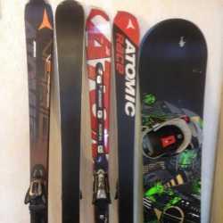 Подготовка и сервис горных лыж и сноубордов