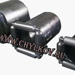 Вводной патрубок РВК 110/4 разжимной.