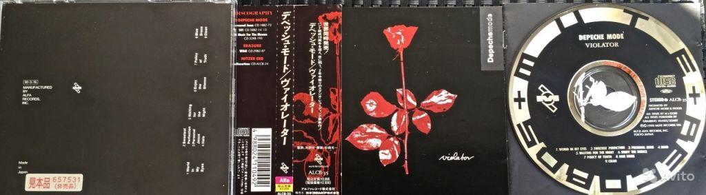 Depeche Mode -Violator Japan Promo в Москве. Фото 1