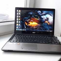 Крутой Acer в металле core i5,RAM 4GB,Radeon 5650