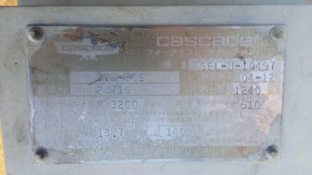 Киповый вилочный захват Cascade б. у. на вилочный погрузчик в Москве. Фото 6, вилочный, киповый, захват, cascade, погрузчик, москва